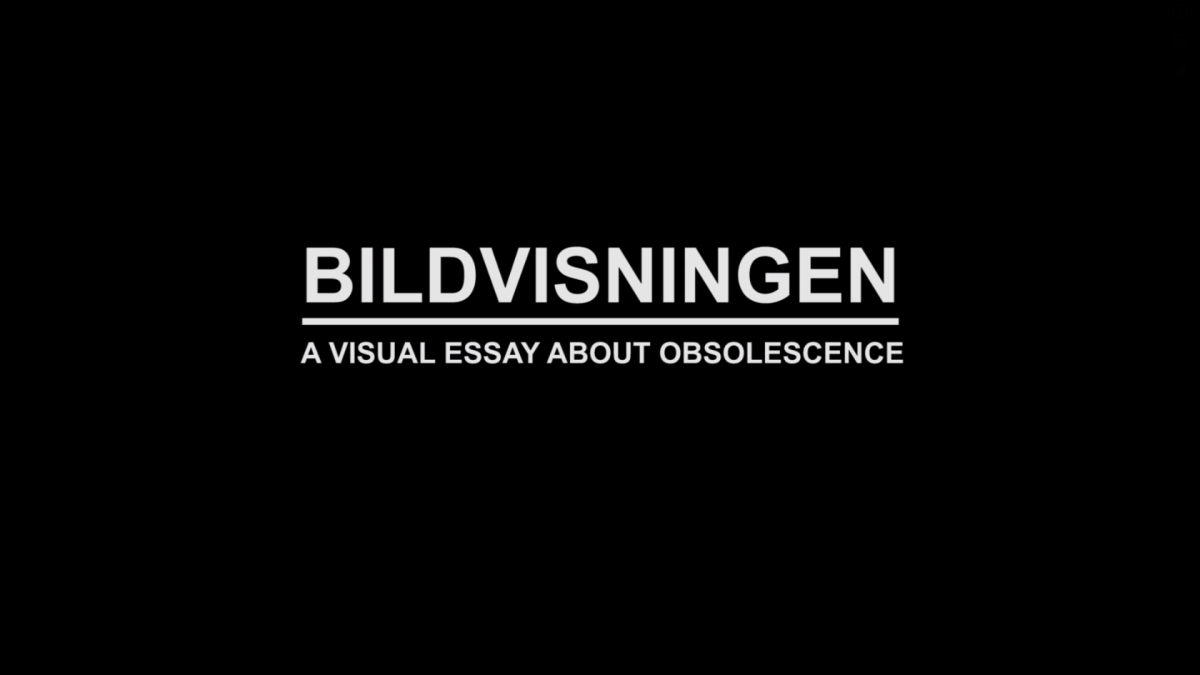 Bildvisningen / A visual essay about obsolescence