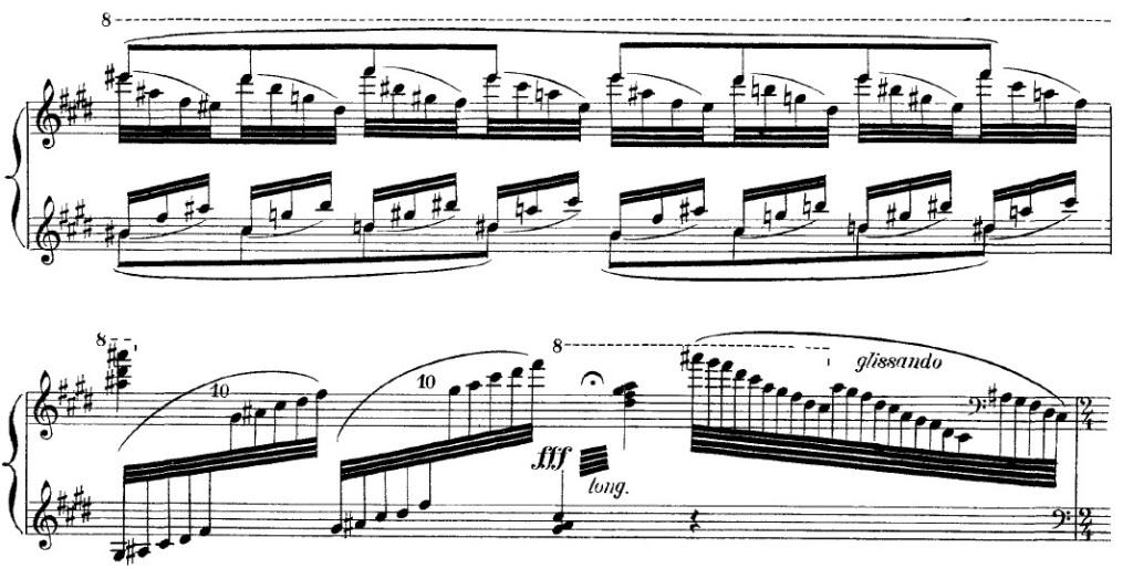 Jeux d'eau (Maurice Ravel, 1901)